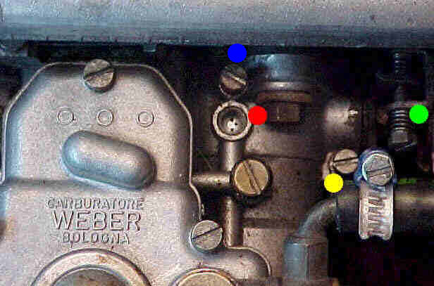 -NEW WEBER  CARBURTOR  LINKAGE  RETURN SPRING  3//4 INCHES 19mm